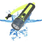 110LM 3W LED Diving Flashlight Waterproof Underwater Torch Light Cycling Fishing