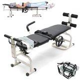 Terapia Massaggio Lettino cervicale e lombare Collo Dispositivo di allungamento del letto pieghevole per trazione in vita