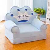 Kids Folding Sofa Seat Children Lazy Sofa Kindergarten Boy and Girl Stool Removable and Washable Baby Sofa Supplies