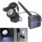 Solar Powered 6 LED Outdooors Garden Landscape Yard Lawn Spot Lightt Light Lamp