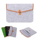 Woolen Felt Laptop Notebook Sleeve Bag Case For 12 Inch Tablet