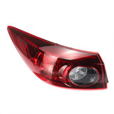 Car Rear Tail Light Brake Lamp Red Shell with No Bulb Left for Mazda 3 2014+