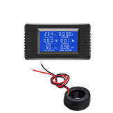 PZEM-022 AC Digitale Display Power Monitor Meter Voltmeter Ampèremeter Frequentie Stroom Spanning Fact
