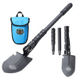 Multifunctional Dohiker Folding Shovel Survival Spade Emergency Garden Camping Tools