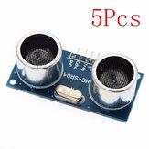 5 Adet Geekcreit Ultrasonik Modülü HC-SR04 Mesafe Ölçme Değişen Dönüştürücü Sensör DC 5V 2-450 cm