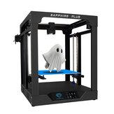 DUA TREES® Sapphire Plus Core XY 300 * 300 * 350mm Ukuran Pencetakan Printer 3D Dengan Tubuh Logam Penuh / Panduan Linear Ganda / Ekstruder BMG / Lanjutkan Daya / Deteksi Filamen / Kit Printer 3D DIY Leveling Otomatis