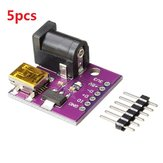5pcs 5V Mini USB Power Connector DC Power Socket Board CJMCU for Arduino - products that work with official Arduino boards