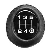 Universal 5 Speed Car Leather Shift Knob Manual Gear Stick Shift Shifter Lever