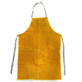 Gardening Welding Apron Protection Men Women Thorn Proof Leather Work Yellow
