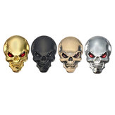 Banggood 3D Demon Skull Metal Stickers Bone Emblem Badge Decals voor Auto Motor Truck
