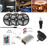 15m non impermeabile SMD5050 RGB Alexa APP Home Wifi controllo Smart LED Kit luce striscia AC110-240V