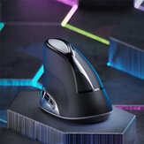 Inphic M80 2.4G Wireless Vertical Mouse 1600DPI Rechargeable Optical Mice for PC Laptop Computer