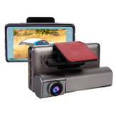 1080P HD 3Inch Dual Lens Front Rear Camera Car DVR Dash Cam Video G-Sensor Recorder