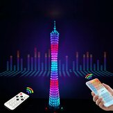 DIY Kit Electronic Training Welding Production Light Cube Canton Tower LED Lights Bluetooth Music Electronic Production Parts
