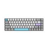 AKKO 3068 - Silent Mechanical Keyboard 68 Keys bluetooth Wired Dual Mode PBT Keycap Gateron Switch White Backlight Gaming Keyboard
