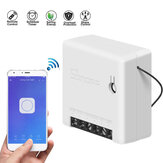 SONOFF Mini commutateur intelligent bidirectionnel 10A AC100-240V Fonctionne avec Amazon Alexa Google Home Assistant Nest prend en charge le mode DIY Permet à Flash le micrologiciel