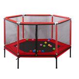 Esercizio del gioco del campo da giuoco dell'interno di sicurezza di salto del trampolino di salto del bambino