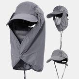 Güneş Koruma Kapağı Yüz Visor Outdoor Balıkçılık Şapka Yaz Çabuk kuruyan Kap Nefes Şapka Beyzbol Kap
