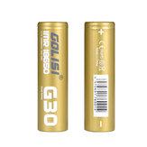 2PCS GOLISI G30 IMR18650 3000mah 25A عالية استنزاف بطارية قابلة للشحن 18650