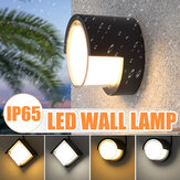20W LED Wall Lamp Outdoor Aluminum Sconce Ceiling Lamp Balcony Garden Courtyard