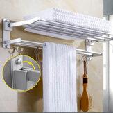 Porte-serviettemontéaumurCrochetCrochet Cintre Bar Tablette Rangement de la salle de bain Hôtel