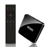 Mecool KM3 ATV S905X2 4GB LPDDR4 128GB Android 10.0 5G WIFI BT4.0 Spraakbesturing 4K HDR TV Box Google-gecertificeerde ondersteuning 4K Youtube Prime Video