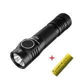 Nitecore E4K 4 x XP-L2 V6 LEDs 4400 Lumens 211m Brightness Powerful LED EDC Flashlight with 21700 Battery