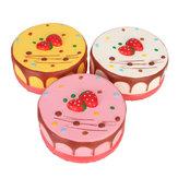 2pcs Squishy Jumbo Mousse Cheesecake 14cm Slow Rising Cake Collection Gift Decor Toy