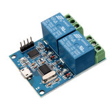 LCUS-2 Dual Channel USB Relay Module USB Intelligent Control Switch