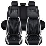 5D 5 miejsc PU Skórzany komplet pokrowców na siedzenia samochodowe Uniwersalna poduszka na siedzenie Mad protector