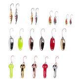 ZANLURE 20 Pcs Fishing Lure 1.5-4cm Artificial Bait Portable Camping Fishing Bait Hooks With Storage Bag