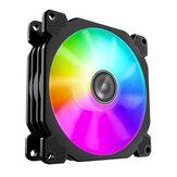 Jonsbo FR925 9 см ARGB компьютер Чехол PC охлаждающий Slient вентилятор для процессора кулер радиатор водяного охлаждения PWM Тихий RGB LED вентилятор