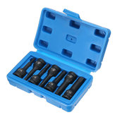 7pcs 3/8 Inch Metric Hex Driver Impact Socket Bit Set