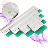 Tela de alumínio de impressão espátula lâmina raspador de tinta lâmina ferramenta 10/20/30 / 40cm