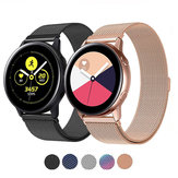 Bakeey Milanese غير القابل للصدأ Steel Watch حزام لـ Samsung Galaxy Watch Active