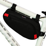 BIKIGHT Poliéster Preto Bicycle Front Tube Triangle Storage Pouch Frame Bolsa