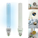 20W UV Ultraviolet Disinfection UV Sterilizer Lamp Germicidal Ozone E27 Tube Light Bulb Sterilization Home 220V