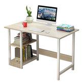 Escritorio de computadora para el hogar, ensamblaje simple, escritorio de dormitorio para estudiantes individuales, mesa de escritura económica para oficina en casa