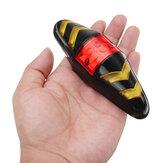 XANES STL05 LED 6 Modos Sem Fio Controle Remoto Girar Lanterna Traseira 500 mAh Luz Recarregável USB