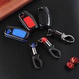 Car Key Case Bag Protector Cover Pilot Fob for Ford Fiesta Focus Mondeo Falcon C-Max Falcon