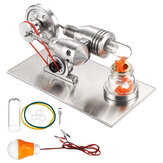 STEM roestvrij Mini hete lucht Stirling Engine motor Model educatief speelgoedkit