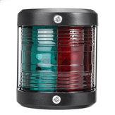 12V Marine LED feux de signalisation de bateau de navigation Chandelier de tribord bi-couleur de bâton / Rib rouge + vert