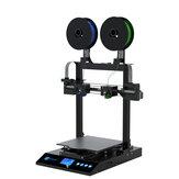 Kit stampante 3D JGMaker® Artist-D Volume di stampa 310x310x350 mm con modalità di stampa duplicazione e mirroring / Sostituzione rapida dell'ugello / Rilevatore di eccentricità del filamento con supporto del design a doppio asse Z