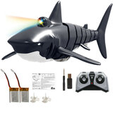 Eachine EBT01 2/3 Battery 2.4G 4CH Electric Shark RC Boat Vehicles Waterproof Swimming Pool Simulation Model Toys