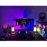 Voice-activated Pickup Ambient Light Car with USB Desktop RGB Pollution Spectrum Rhythm Screen Hanging Light Atmosphere Game Light