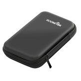 Rocketek Storage Bolsa Transporte Caso Protección de disco duro para disco duro HDD de 2,5 '' Bolsa Perforadora Caja