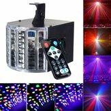 Discoteca Sound Actived 30W DMX512 RGBW Led Stage Strobo Light DJ KTV proiettore