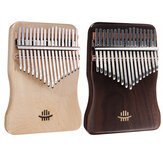 17 klíčů Kalimba Finger Hand Piano Mahagon Thumb Piano Wood Music Instrument Kit
