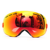 Snowboard Anti-fog Ski Goggles Two Layers Lens Spherical UV Protection Motorcycle