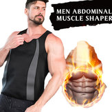 Men's Neoprene Vest Sauna Suit Shaped Vest Heat Sweat Increase Energy Consumption Keep Fit Fitness Shirt
